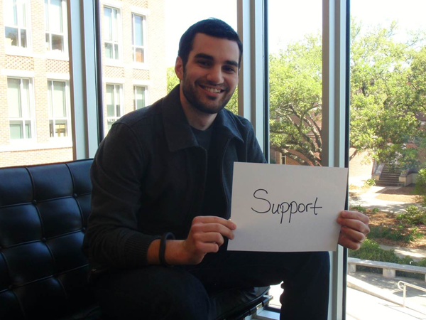 51. Freeman Means Support: Peter Tzioumis (MACCT '14)