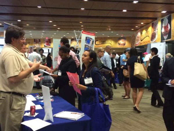 Fall Career Expo 2014 at the Mercedes-Benz Superdome