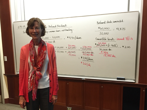 Karen Foust – Accounting Professor
